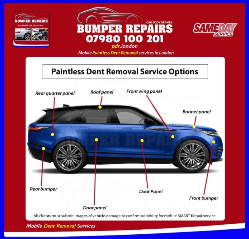 Mini Cooper Clubman Dent Removal Mobile Dent Repair London Pdr